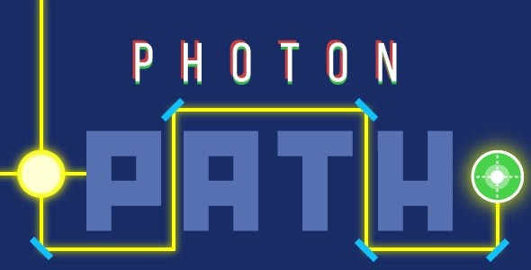 Photon path - HTML5 game, Constr.2-3, AdSense ready, mobile, responsive, AdMob possible