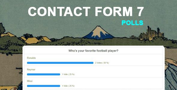 Contact Form 7 Polls