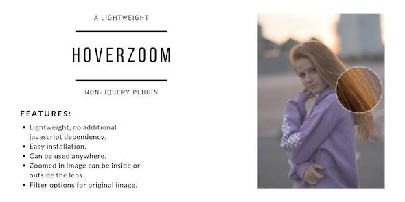 HoverZoom - Lightweight Non-JQuery Plugin - CodeCanyon Item for Sale