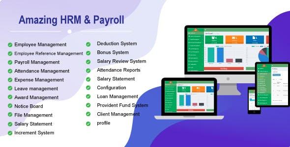 Amazing HRM & Payroll