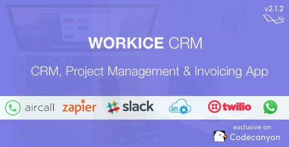 Workice - The Ultimate Freelancer CRM - CodeCanyon Item for Sale