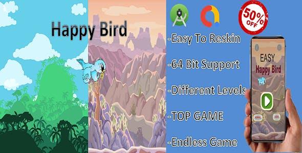 Happy Bird( (Admob  + Android Studio)