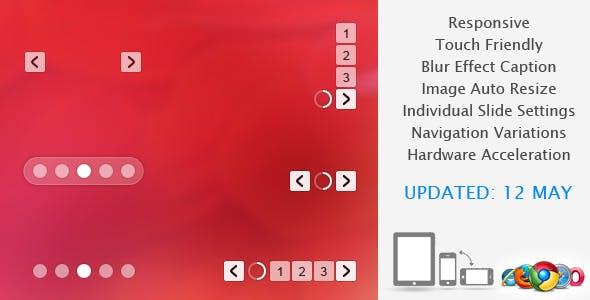Translucent - Responsive Banner Rotator / Slider