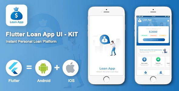 Flutter Apps-Flutter Loan Apps UI Kit