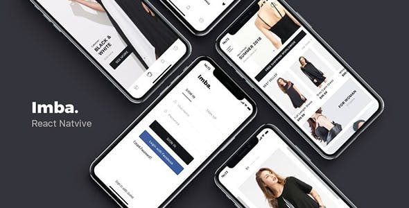 Imba - React Native Ecommerce Template