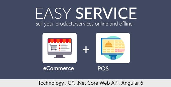 Easy Service - Asp.Net Core Web API, Angular