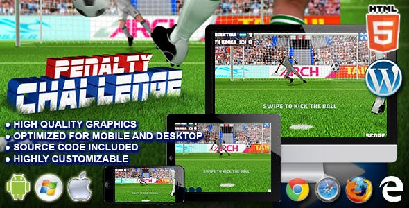 Penalty Challenge - HTML5 Sport Game