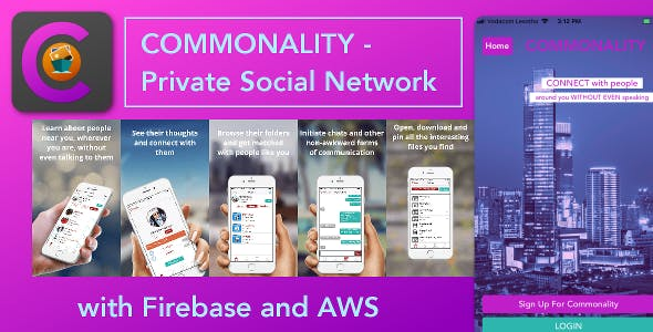 Commonality - Private Social Network
