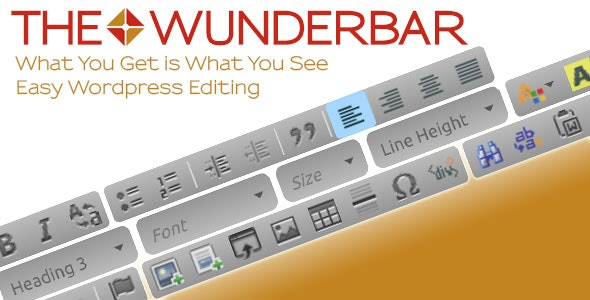 The Wunderbar WYSIWYG Front-End Editor - CodeCanyon Item for Sale