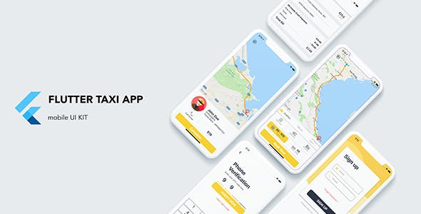 Flutter Taxi App Customer UI KIT