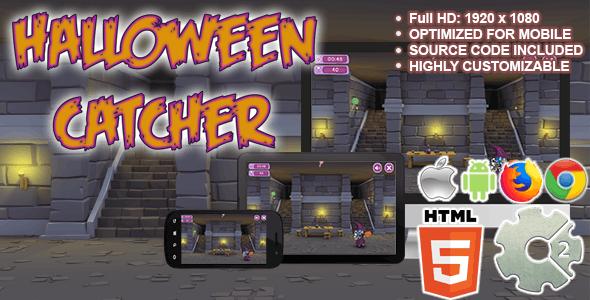 Halloween Catcher ( HTML5 + CAPX )