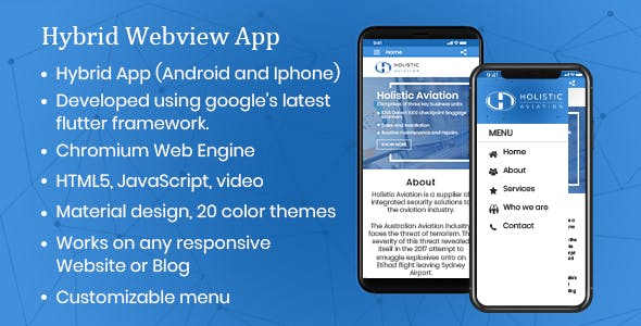 Android/IOS WebView App