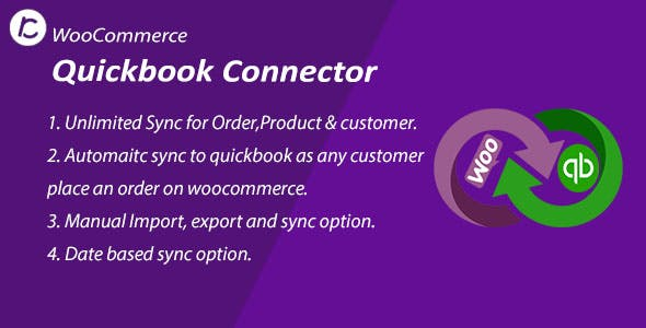 WooCommerce QuickBooks Connector Plugin