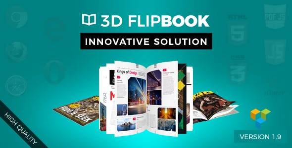 Visual Composer FlipBook