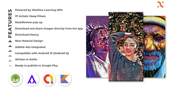 Artistic Deep Filters - Deep Photo Filters - CodeCanyon Item for Sale