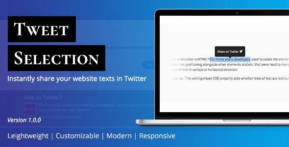 Tweet Selection | Twitter Highlighter