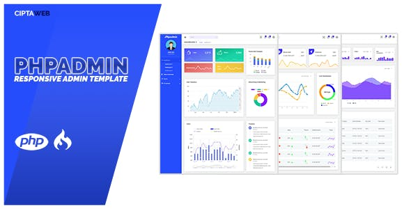 PHP Admin Template