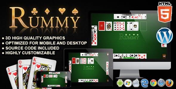 Rummy - HTML5 Card Games