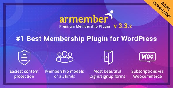 ARMember - WordPress Membership Plugin