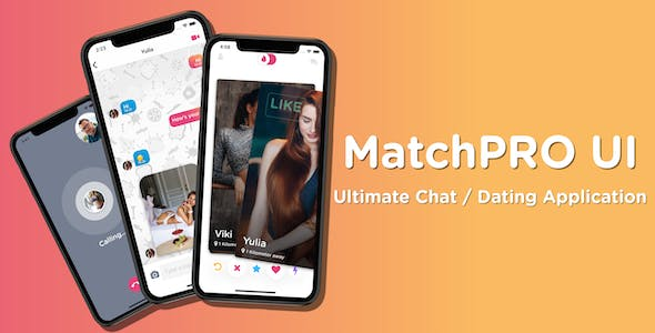 MatchPro UI - Ultimate Chat / Dating React Native Application