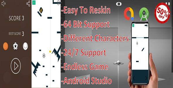 Ball Adventure(android studio+Admob)