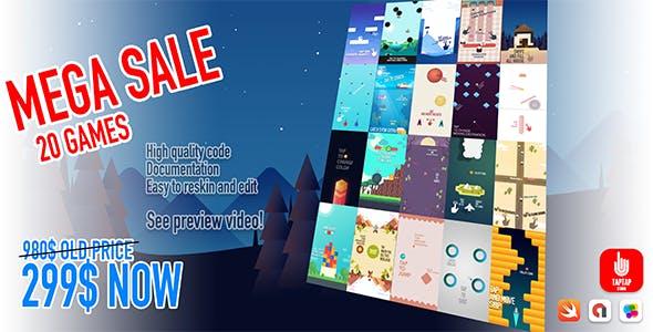 Mega Sale - 20 Games