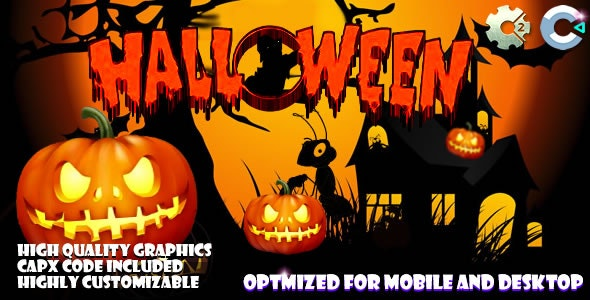 Halloween Where Is The Cat (C2,C3,HTML5) Game. - CodeCanyon Item for Sale