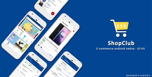 Android Native E-Commerce UI