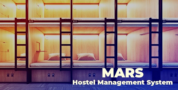 Mars | Hostel Management System - CodeCanyon Item for Sale