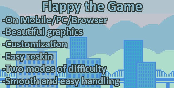 Flappy the Game (Mobile, HTML5. PC)