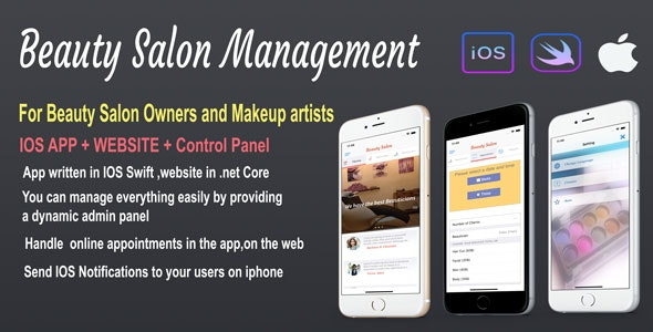 Beauty Salon Management - CodeCanyon Item for Sale