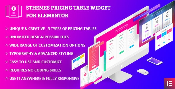 Advanced Pricing Tables Widget For Elementor - CodeCanyon Item for Sale