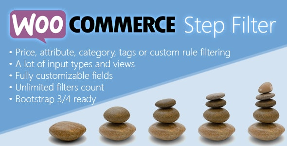 WooCommerce Step Filter - CodeCanyon Item for Sale