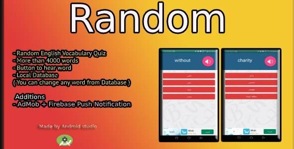 Random vocabulary Quiz - CodeCanyon Item for Sale