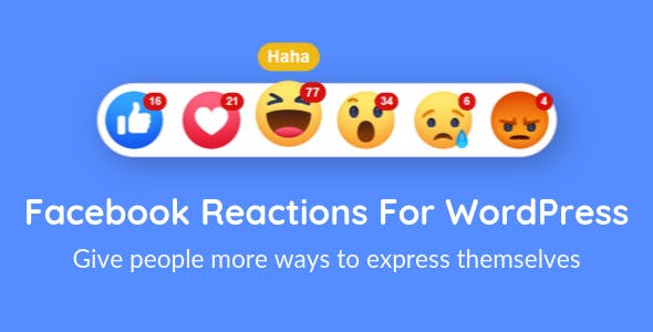 Facebook Reactions For WordPress