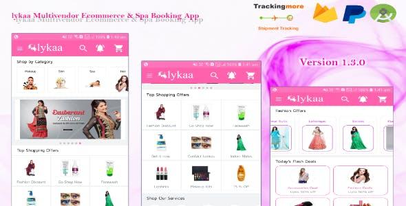 lykaa Multivendor Ecommerce & Spa Booking App