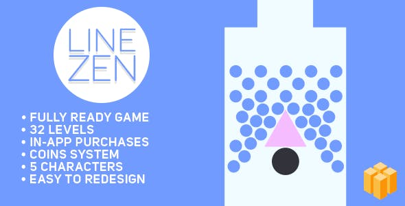 Line Zen - BUILDBOX Fun Arcade Game Template + easy to reskine + AdMob