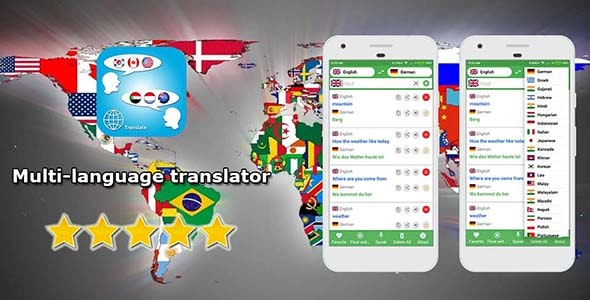 Multi language Translator - Voice, Text - CodeCanyon Item for Sale