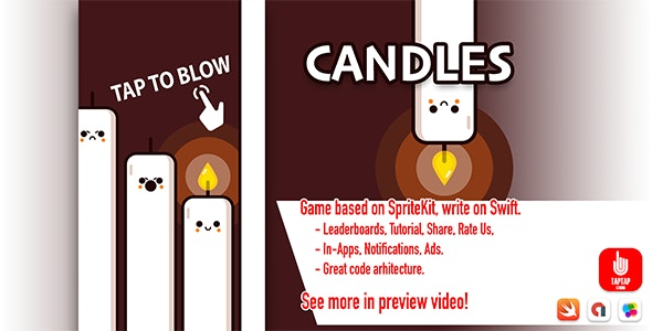 Candles - CodeCanyon Item for Sale
