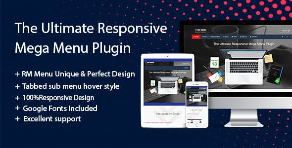 The Ultimate Responsive Mega Menu Plugin