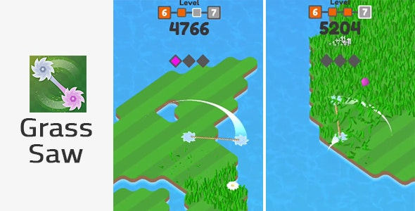 Grass Cutter - Unity 3D Game Template - CodeCanyon Item for Sale