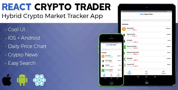 React Native Crypto Trader