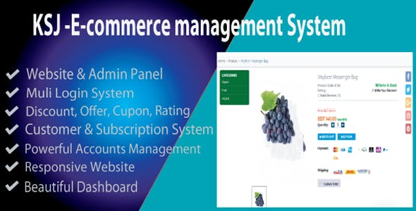 KSJ E-commerce Management System