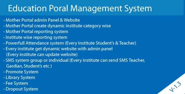 Cloud Base Multiple school Generate & Management System