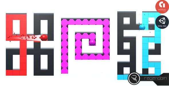 Maze Painter - Complete Unity Game + Admob
