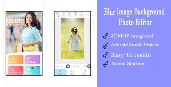 Blur Image Background  Photo Editor - CodeCanyon Item for Sale