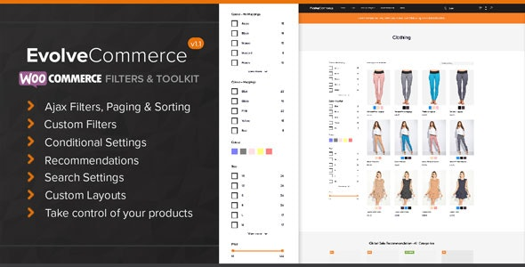 Evolve Commerce - WooCommerce Filters & Toolkit - CodeCanyon Item for Sale