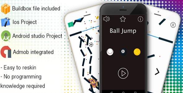 Ball Jump - Buildbox Game Template
