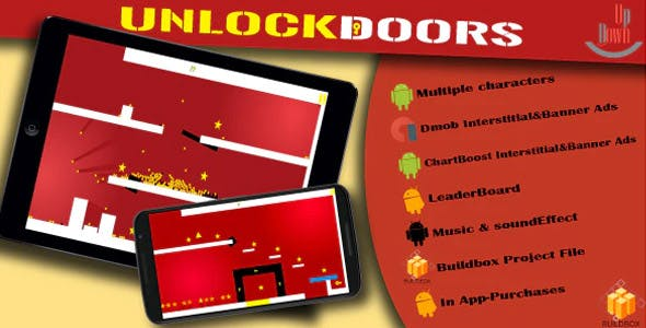 UnlockDoors - Buildbox Game Template