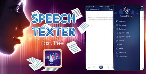 Speech Texter – Voice to Text Android